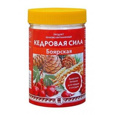 Кедровая сила «Боярская», белково-витаминный коктейль: описание, отзывы