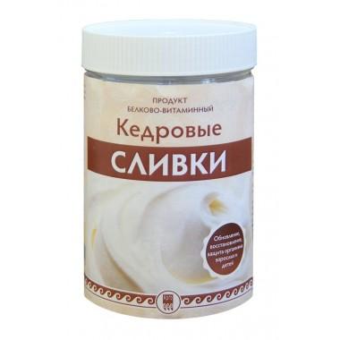 Кедровые сливки, продукт белково-витаминный: описание, отзывы