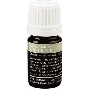 Эфирное масло Пачули: описание, отзывы