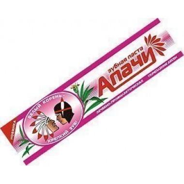 Зубная паста «Апачи», для укрепления десен: описание, отзывы