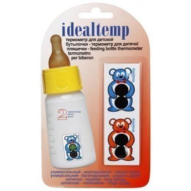 Термометр жидкокристаллический для детской бутылочки: описание, отзывы