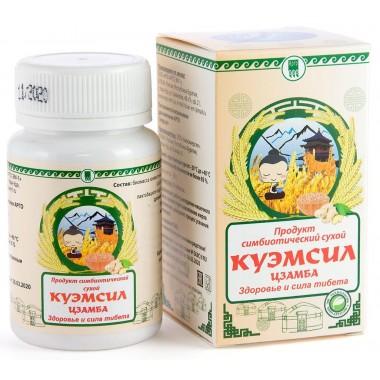 КуЭМсил Цзамба, продукт симбиотический: описание, отзывы