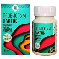 Пробиогум Лактис, таблетки - профилактика аллергии, нормализация пищеварения