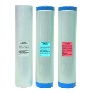 Комплект картриджей для высокопроизводительного фильтра «Водолей-БКП»: описание, отзывы