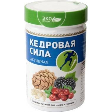 Кедровая сила Активная, продукт белково-витаминный: описание, отзывы