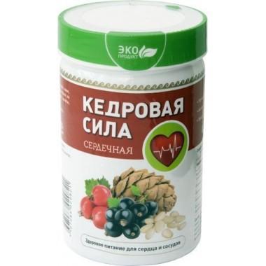 Кедровая сила Сердечная,  продукт белково-витаминный: описание, отзывы