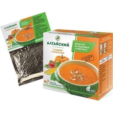 Крем-суп Алтайский с тыквой и кукурузой: описание, отзывы