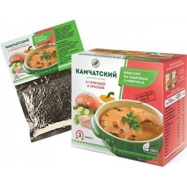 Крем-суп Камчатский с горбушей и треской: описание, отзывы