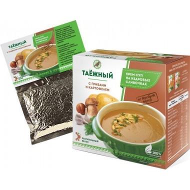 Крем-суп Таёжный с грибами и картофелем: описание, отзывы