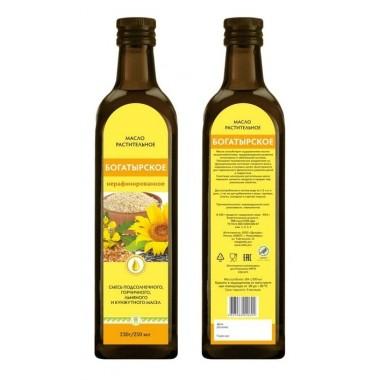 Масло салатное «Богатырское»: описание, отзывы