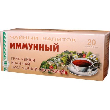 Напиток чайный «Иммунный»: описание, отзывы