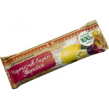 Батончик фруктовый Чернослив-лимон-зверобой: описание, отзывы