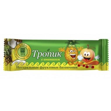 Фрутилад-Арго Тропик с ананасом, батончик фруктово-ягодный: описание, отзывы