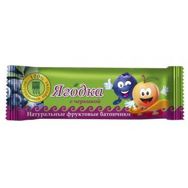 Фрутилад-Арго Ягодка с черникой, батончик фруктово-ягодный: описание, отзывы
