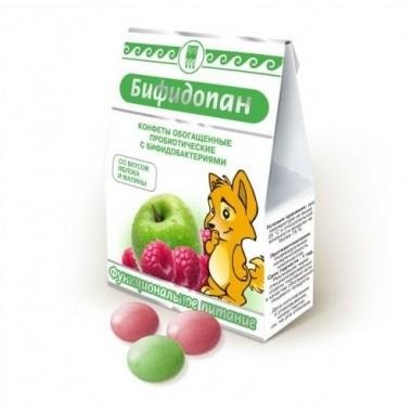 Бифидопан, обогащенные пробиотические конфеты для детей: описание, отзывы
