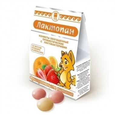Лактопан, конфеты обогащенные пробиотические: описание, отзывы