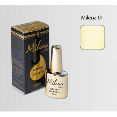Гель-лак для ногтей «Milena» 01, слоновая кость: описание, отзывы