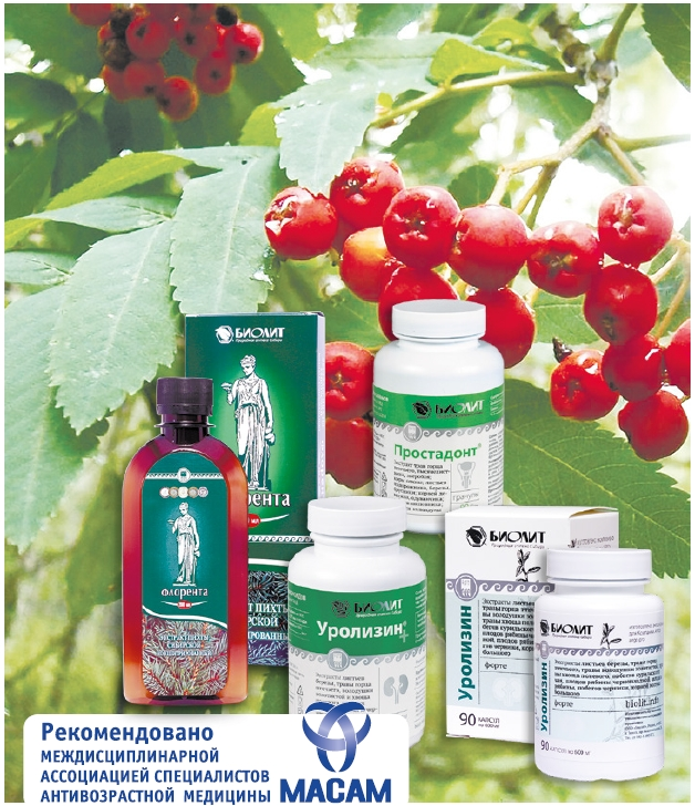 Мочекаменная болезнь. Продукты БИОЛИТ при заболеваниях почек и мочевыводящих путей