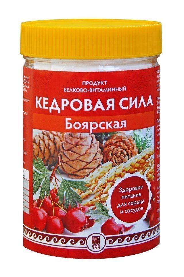 Купить Кедровая сила «Боярская», белково-витаминный коктейль (код 0517), цена