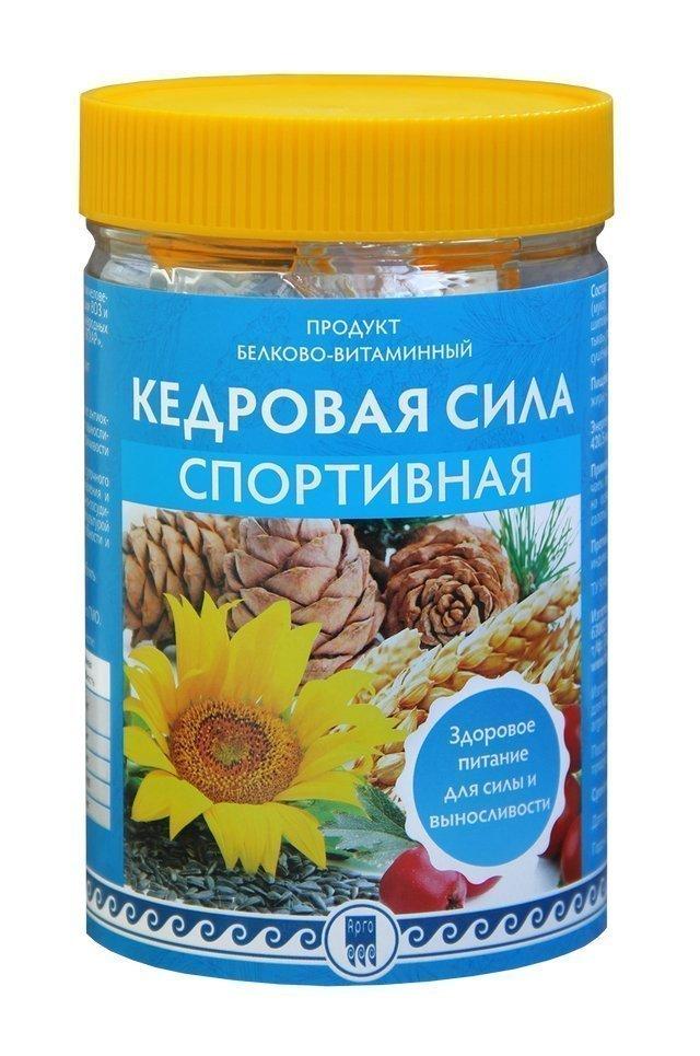 Купить Кедровая сила «Спортивная», белково-витаминный коктейль (код 0518), цена