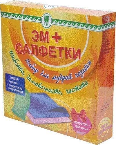 Купить ЭМ + салфетки, набор (код 2032), цена