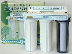 Купить 3-х ступенчатый фильтр для доочистки питьевой воды «Водолей-БКП» (код 1617), цена