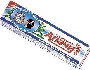 Купить Зубная паста «Апачи», отбеливающая (код 2403), цена