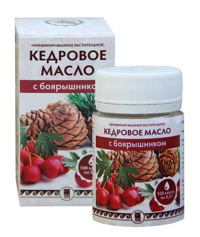 Купить Кедровое масло с боярышником (код 0513), цена