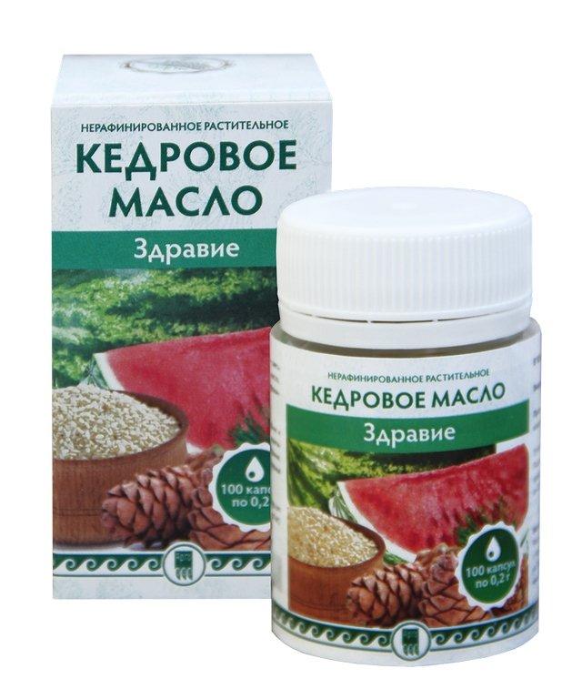 Купить Кедровое масло «Здравие» (код 0504), цена