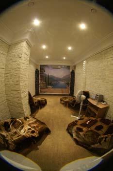 Шунгитовая комната в новой школе в Беслане