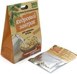 «Кедровый завтрак для здоровья печени» с расторопшей и куркумой