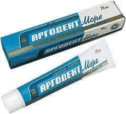 Зубная паста «Аргодент Море»